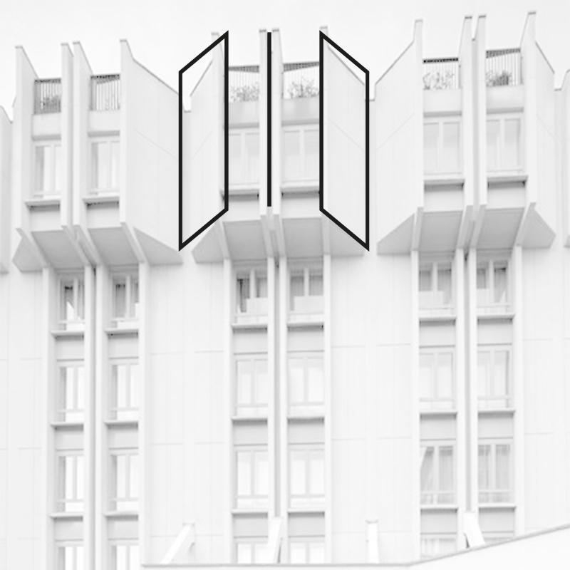 TOCQ il nuovo logo sulla facciata